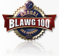 The 2011 ABA Journal Blawg 100
